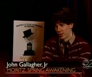 john gallagher jr and spring awakening image