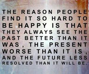 quote, happy, and past image