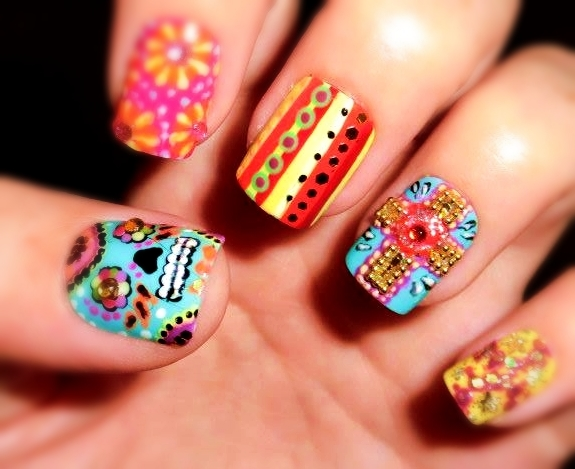 Nail Art Tumblr Google Search On We Heart It