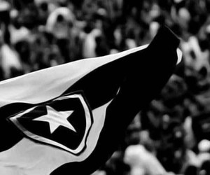 black and white and botafogo image