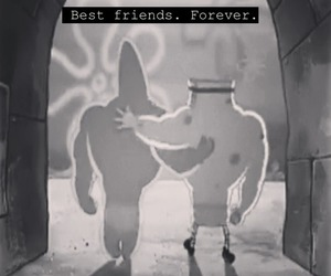best friends, forever, and patrick star image