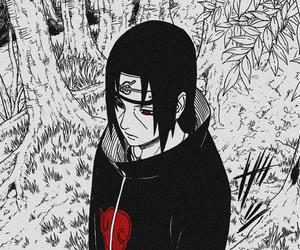 akatsuki, itachi, and manga image