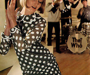 the who and vintage image