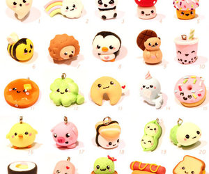 clay, fimo, and food image