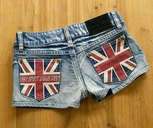 fashion, shorts, and england image