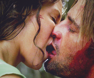 Kate Austen, lost, and sawyer image