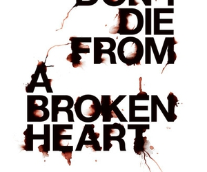 heart, typography, and text image