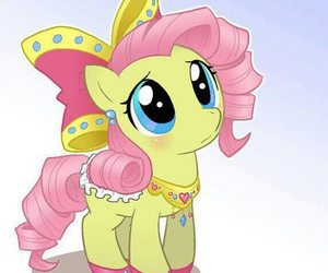 my little pony, fluttershy, and animal image