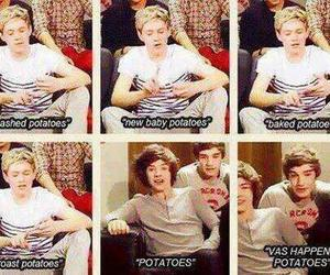 memories, potatoes, and one direction image