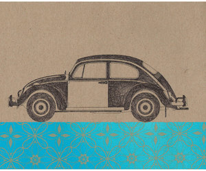 beetle, car, and doodle image
