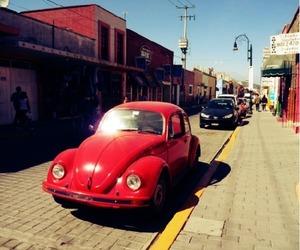 car, ladybird, and sunshine image