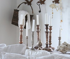 candles, decorating, and vintage image