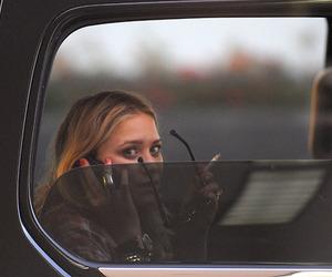 olsen, car, and sunglasses image