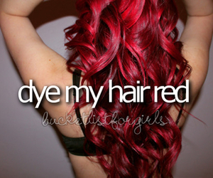 dye, what a girl wants, and bucketlist image