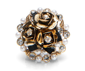 betsey johnson, pearls, and photography image