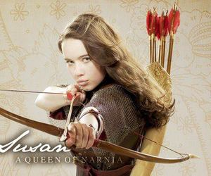 anna popplewell, chronicles of narnia, and narnia image