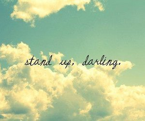 darling, sky, and quote image