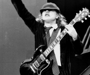 ACDC, angus young, and rock n roll image