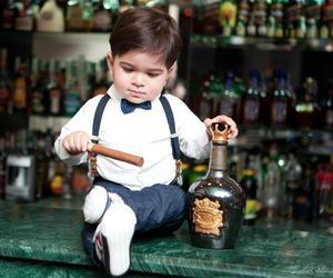 baby, gentleman, and funny image