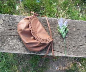 bag, brown, and black image