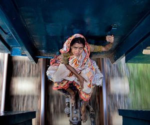 train, india, and photography image