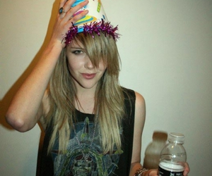 iron maiden, luna, and party hat image