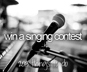 contest, singing, and win image