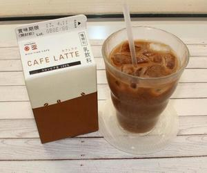 coffee, drink, and japanese image