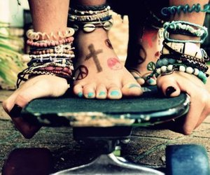 bracelets, hippie, and cool image
