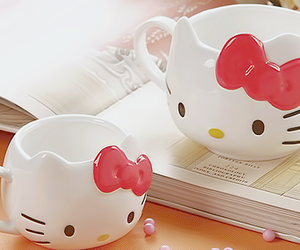 hello kitty, creative, and cup image