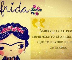 flowers, frida kahlo, and women image