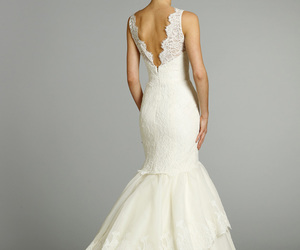 bride, gown, and dress image