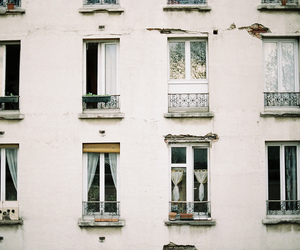 windows, vintage, and house image