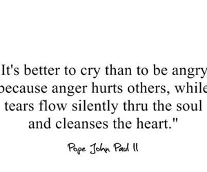 cry, quote, and angry image