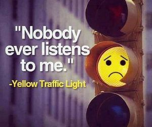yellow and traffic light image