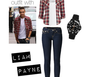 outfit, Polyvore, and liam payne image