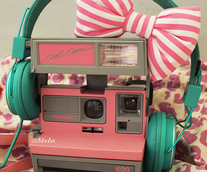 80s, pink, and bow image