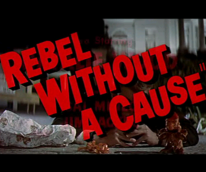 rebel without a cause and movie image