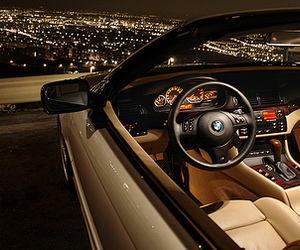 car, bmw, and city image