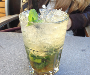 blog, drink, and mojito image