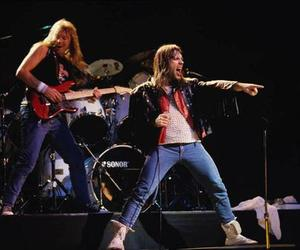 Bruce Dickinson, iron maiden, and heavy image