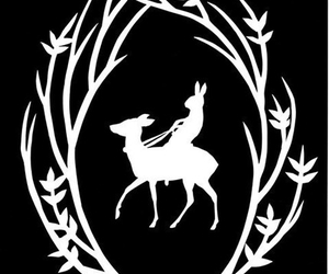 bunny, ride, and silhouette image