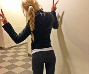 beautiful, fit, and girl image