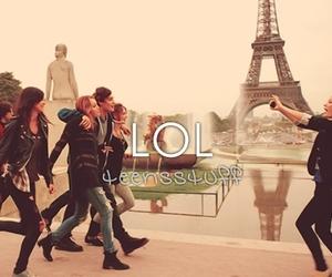 paris, friends, and lol image