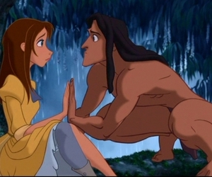 jane, tarzan, and love image