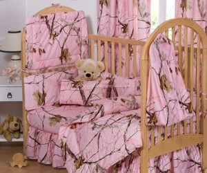 bedding, pnk, and camo image