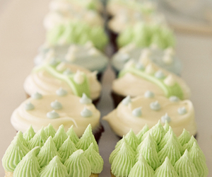 cupcakes, beautiful, and green image