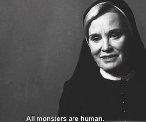 monster, american horror story, and human image
