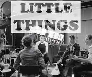 one direction and little things image