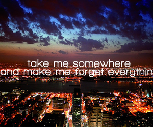 city, quote, and text image